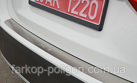 Накладка на задний бампер BMW X1 (кузов Е84) с 2009 г.
