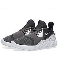 Оригинальные  кроссовки Nike Lunarcharge Premium LE Black & White