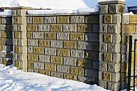 Производство вибропрессованного заборного блока