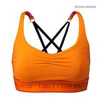Спортивный топ Better Bodies Athlete Short Top, Bright Orange, фото 1
