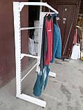 Стелаж для одягу б/в, стійка для одягу б., фото 2
