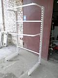 Стелаж для одягу б/в, стійка для одягу б., фото 3