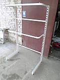 Стелаж для одягу б/в, стійка для одягу б., фото 5
