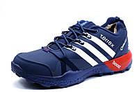 Зимние кроссовки мужские Adidas Terrex, на меху, темно-синие, р. 41