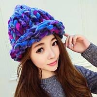 Шапка женская Вязанные шапки, фото 1