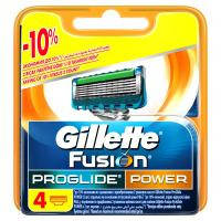 Сменные кассеты Gillette Fusion ProGlide Power 4 шт (7702018085576)