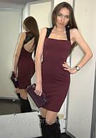 Платье Victoria's Secret бордо с кружевом (XS/S)