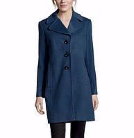 Фирмен демисезонное шерстяное пальто LARRY LEVINE из США р. 46 6-S-USA