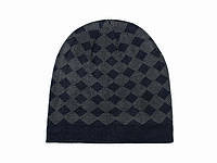 Зимняя шапка для мужчин с рисунком