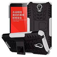 Чехол Xiaomi Redmi Note 2 противоударный бампер белый