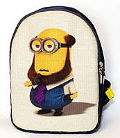 Джинсовый рюкзак Посипаки, фото 1