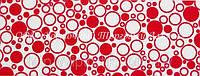 Декоративная бордюрная лента — Пенка красная - Н50 мм - 500 м