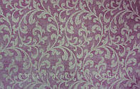 Натуральная ткань для штор в современный интерьер Madura Sable бордовая