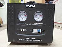 Стабилизатор напряжения SVEN AVR-3000 б/у, Стабилизатор б у, стабилизатор переменного напряжения б у.