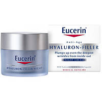 Eucerin Eucerin Hyaluron-Filler Ночной крем против морщин, 63486 (50 мл)
