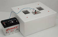 "Инкубатор ""Несушка-М"" на 76 яиц 220/12 В автоматический, с вентилятором."