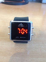 Часы спортивные Adidas LED WATCH. Высокое качество. Удобние и практичные часы. Купить в интернете Код: КДН1086