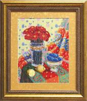 Набор для вышивки крестиком №544 Натюрморт с лимоном