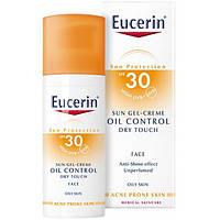 Eucerin Eucerin Солнцезащитный гель-крем для жирной и склонной к акне кожи лица SPF 30, 69768 (50 мл)