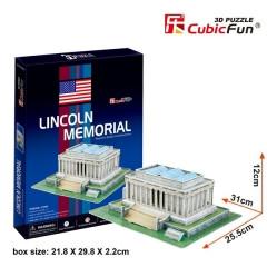 """CubicFun Трехмерная головоломка-конструктор """"Мемориал Линкольна"""""""