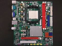Плата AMD SAM2 AM3 EliteGROUP GF8100VM-M5 Понимает ЛЮБЫЕ 2-6ЯДРА ПРОЦЫ X2,X3,X4 и даже PHENOM II X6 sam3 am2