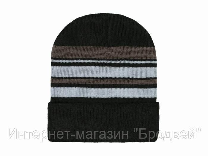купить вязаная шапка мужская теплая в киеве от компании интернет