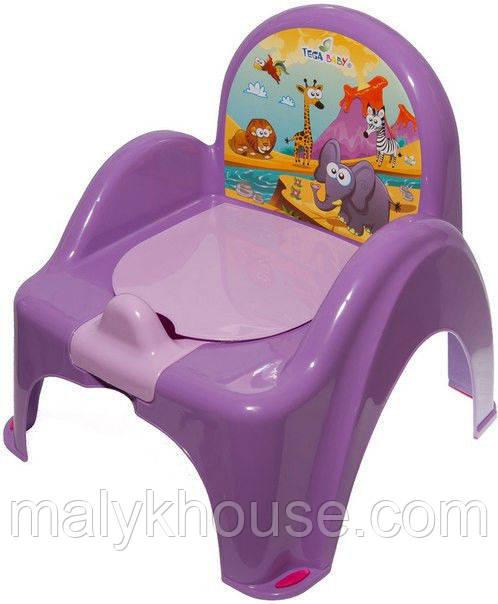 Горшок стульчик Tega Baby