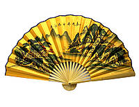 Настенный веер из бамбука