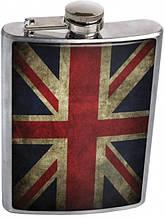 Прикольная фляга для алкоголя 26-08-060 GREAT BRITAIN FLAG 250 мл. Девайс Мейкер