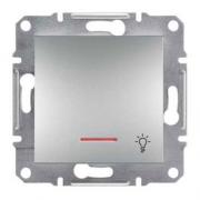 SHNEIDER ELECTRIC ASFORA Кнопка с подсветкой Алюминий