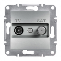 SHNEIDER ELECTRIC ASFORA TV-SAT Розетка концевая Алюминий