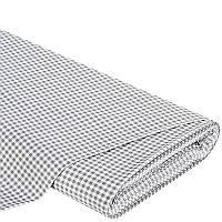 Декоративная ткань Ibiza клетка (серый)