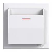 SHNEIDER ELECTRIC ASFORA Выключатель карточный электрический Белая