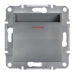SHNEIDER ELECTRIC ASFORA Выключатель карточный механический Сталь