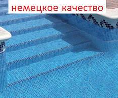 Нескользящая пленка Лайнер для ступенек бассейна из Германии мозаика