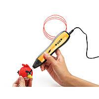 3д ручка Myriwell 5 RP-700A 3D pen smart 5 + набор пластика 12 цветов в подарок (оранжевый)