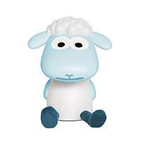 ZAZU - Детский светильник для чтения Барашек Фин (цвет голубой)