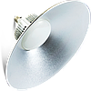 ЛЕД светильник купольный 50W 4100Lm с цоколем Е 27