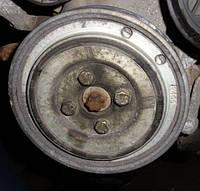 Шкив коленвала 6 ручейков демпферный ( Шкив коленчатого вала )FiatDoblo 1.3MJet2000-200946819147