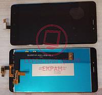 Дисплей модуль Xiaomi Redmi Note 4 в зборі з тачскріном, чорний