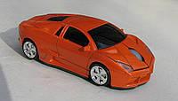 Мышка компьютерная беспроводная Lamborghini оранжевая