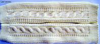 Рукавички-митенки (длинные), длина 35 см