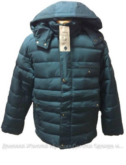 Мужская теплая куртка на зиму