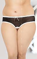 Стринги женские String 2471 Plus Size черные XXXL