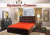 Кровать двуспальная Гамма