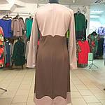 Платье женское трикотажное с длинным рукавом теплое р-р 48,50,52, фото 5