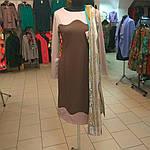 Платье женское трикотажное с длинным рукавом теплое р-р 48,50,52, фото 4
