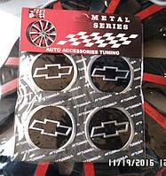 Наклейка эмблема ШЕВРОЛЕ на колесный диск / колпак d 60 мм
