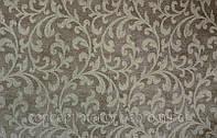Натуральная ткань для штор в современный интерьер Madura  Earth коричневая