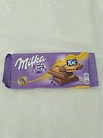 Шоколад Milka&Tuc Швейцария 87 гр.